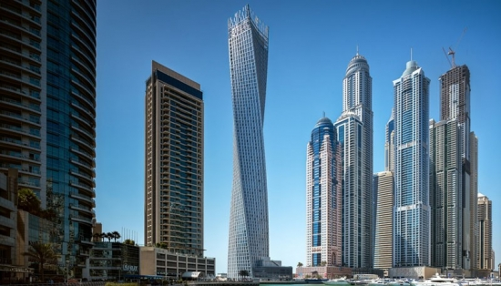 Cayan Tower, Dubai, United Arab Emirates