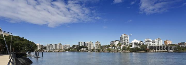 Brisbane Panoramic River View